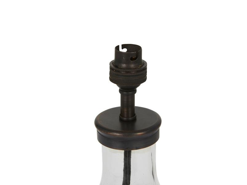 Milk Bottle glass shaped table lamp