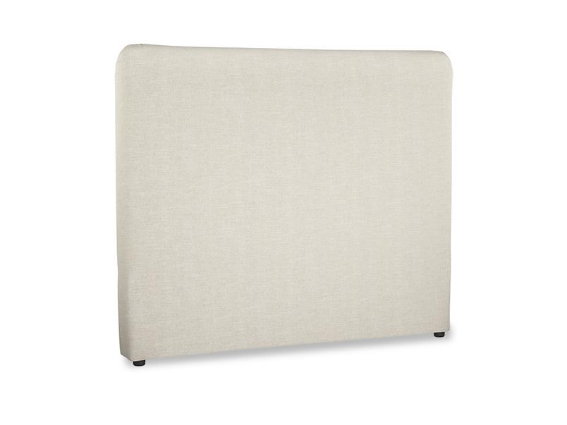 Ruffle upholstered handmade padded headboard