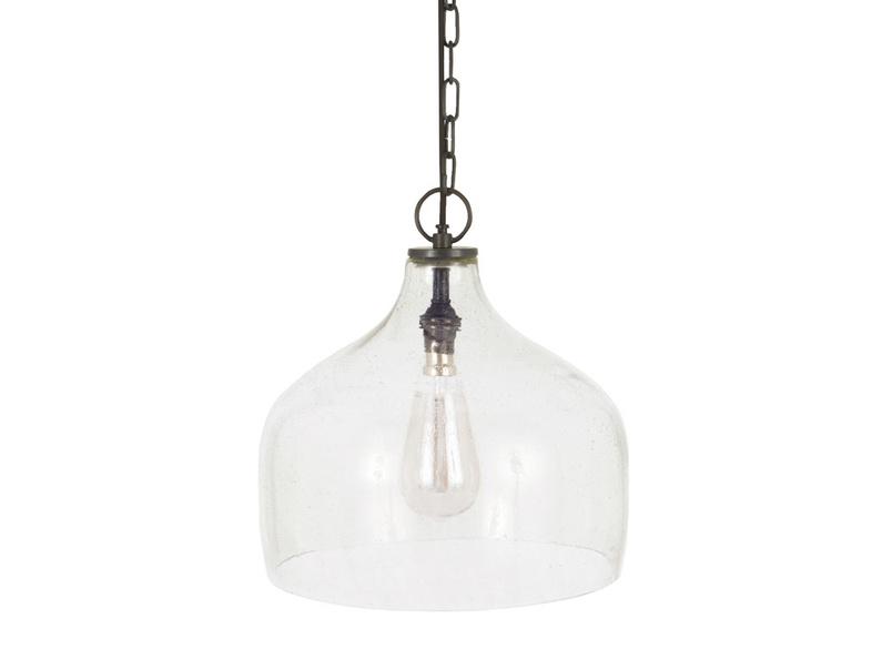 Medium Cowbell Pendant light