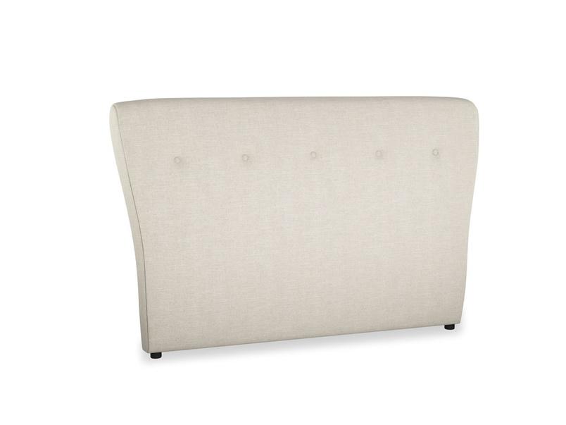 Wall-mounted upholstered Smoke headboard