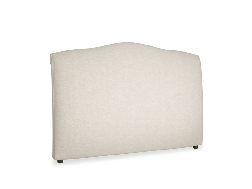 Upholstered French style handmade Frenchie headboard