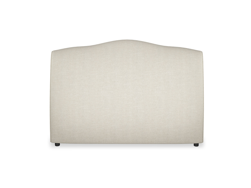 French upholstered French headboard