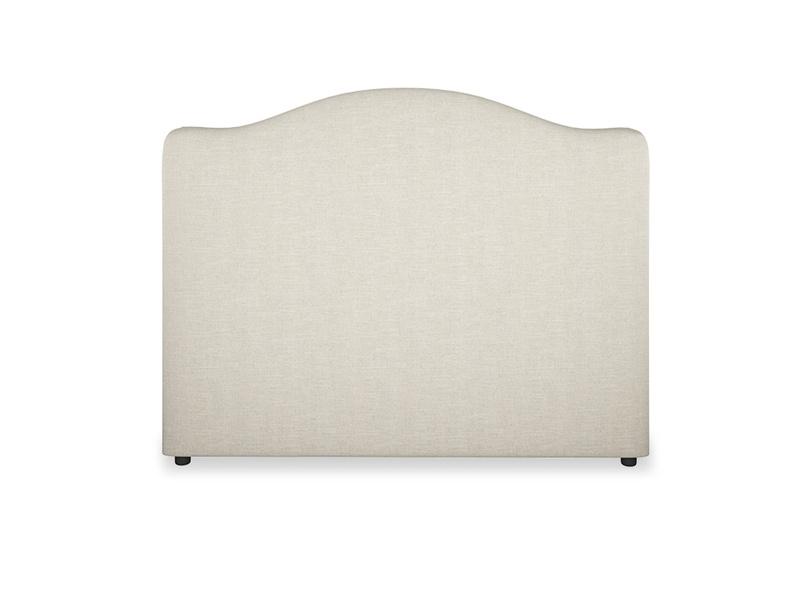 French upholstered handmade Luna headboard
