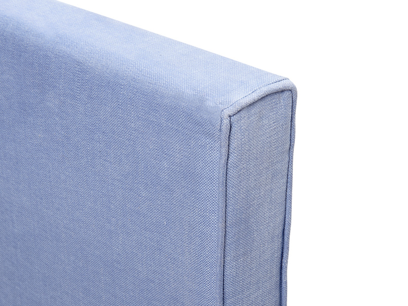 Contemporary upholstered Piper headboard