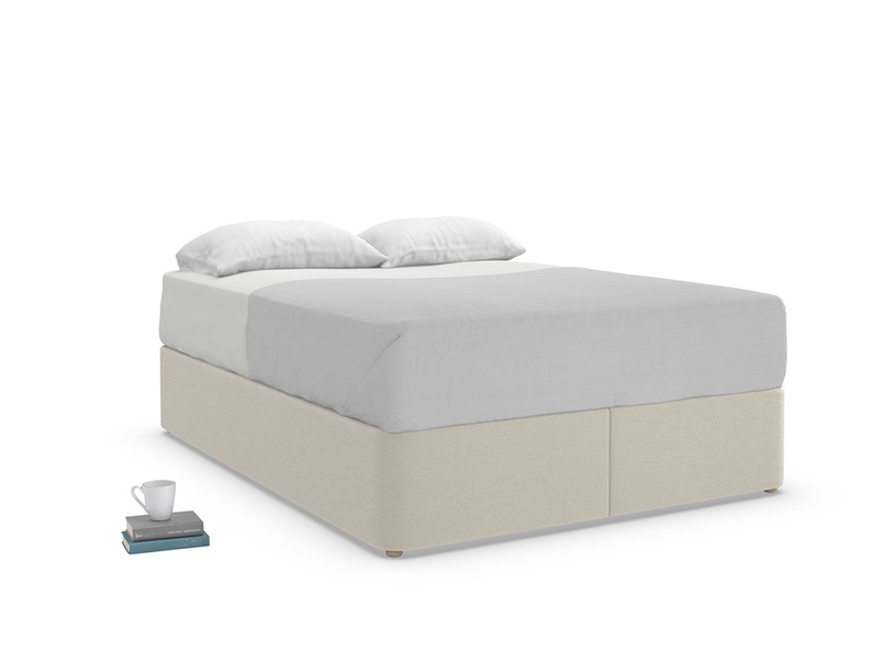 Divan storage Store upholstered bed base in a contemporary style