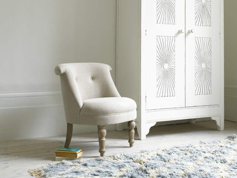 Small and cute Bovary occasional bedroom armchair