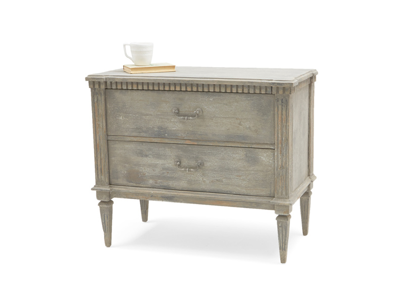 Tabitha vintage wooden reclaimed chest of drawers