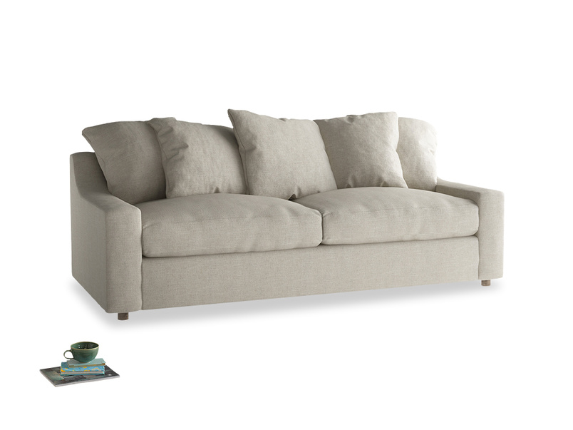 Luxury deep seated and very comfortable Cloud sofa handmade in Britain
