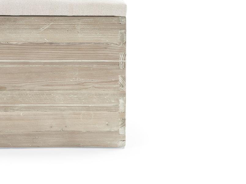 Lugger wooden storage box