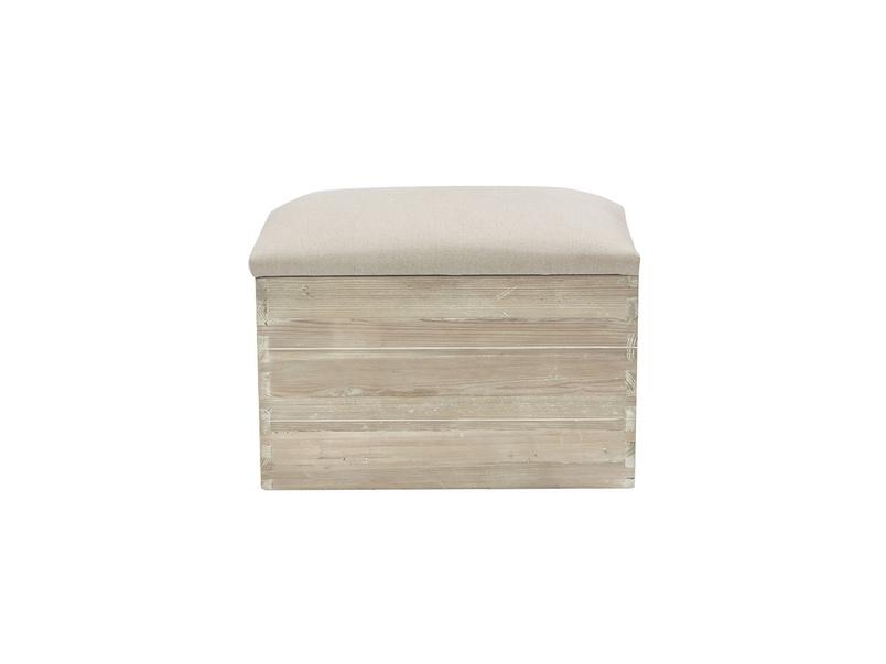 Lugger storage stool