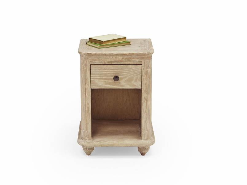 Amity wooden bedside table