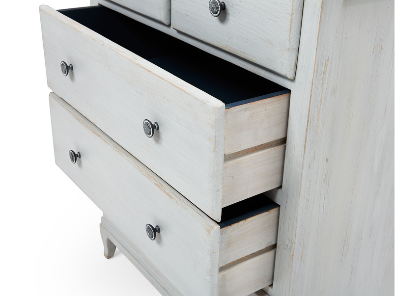 Mosey chest of drawers in reclaimed wood