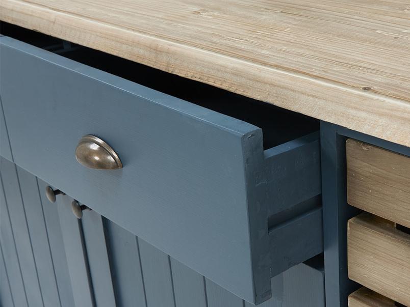 Cidre sideboard in Inky Blue reclaimed fir