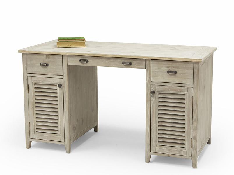Scribble pedestal desk