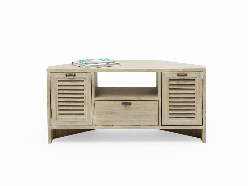 Corner Boy wooden TV unit