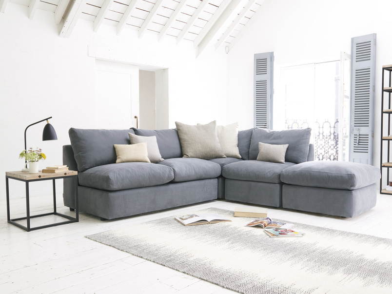 Chatnap luxury and deep sectional storage corner sofa