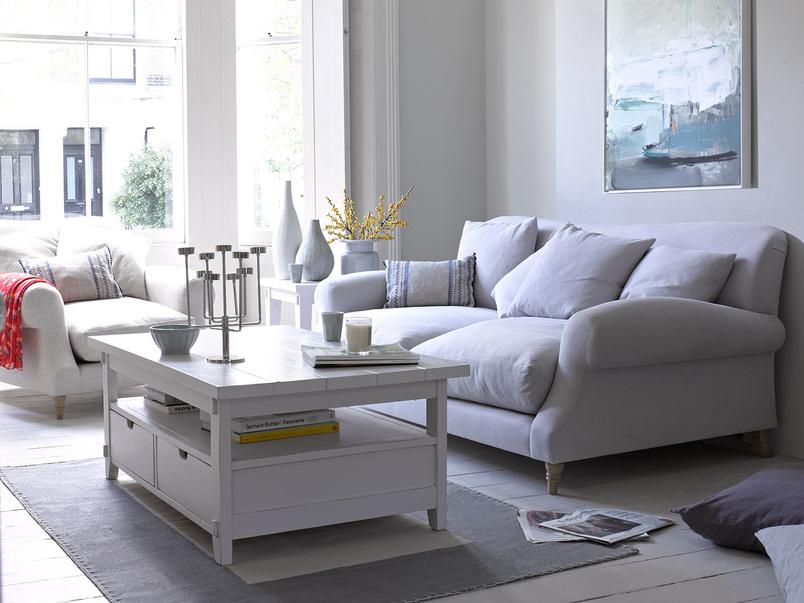 Classic shape extra deep Crumpet sofa