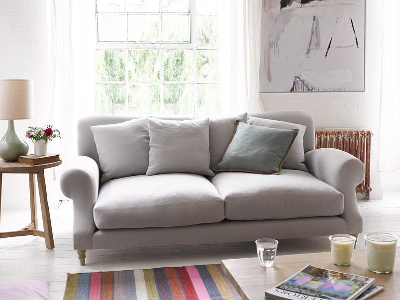 Extra deep and comfy coontemporary Crumpet sofa