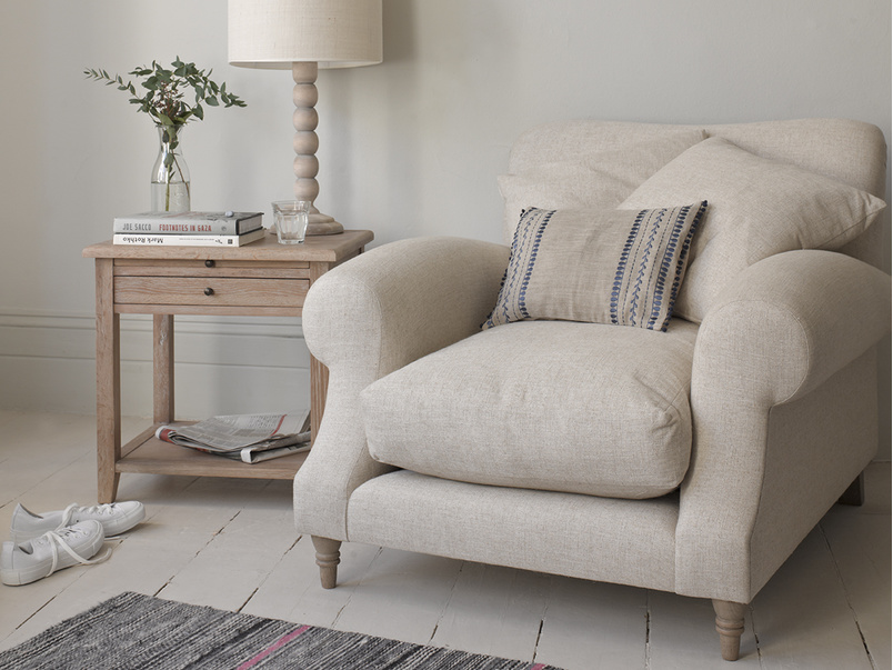 Crumpet armchair with seriously comfy deep cushions