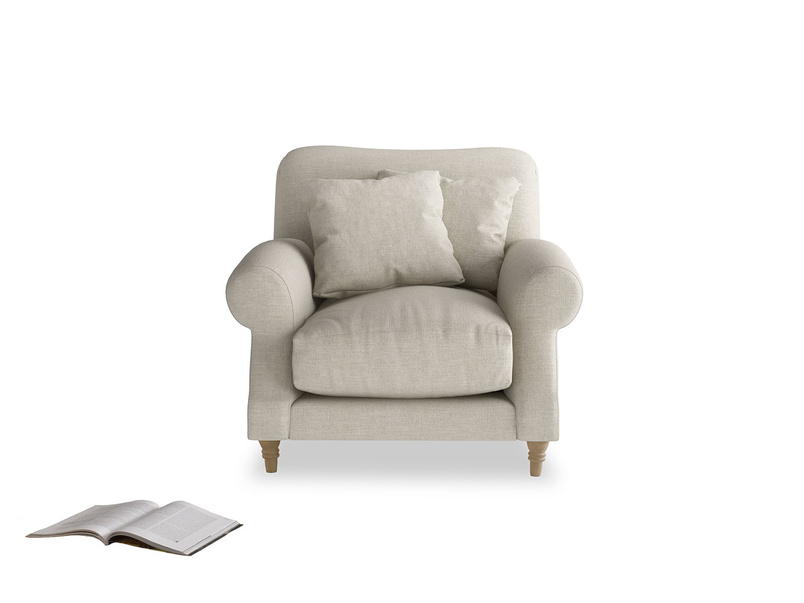 Stunning Crumpet hand made very comfy armchair