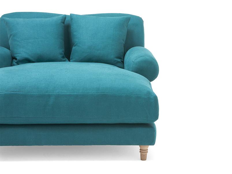 Crumpet love seat chaise snuggle chair