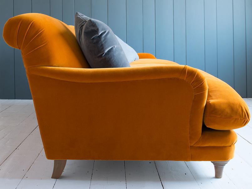 Gorgeous handmade Pudding comfy luxury armchair