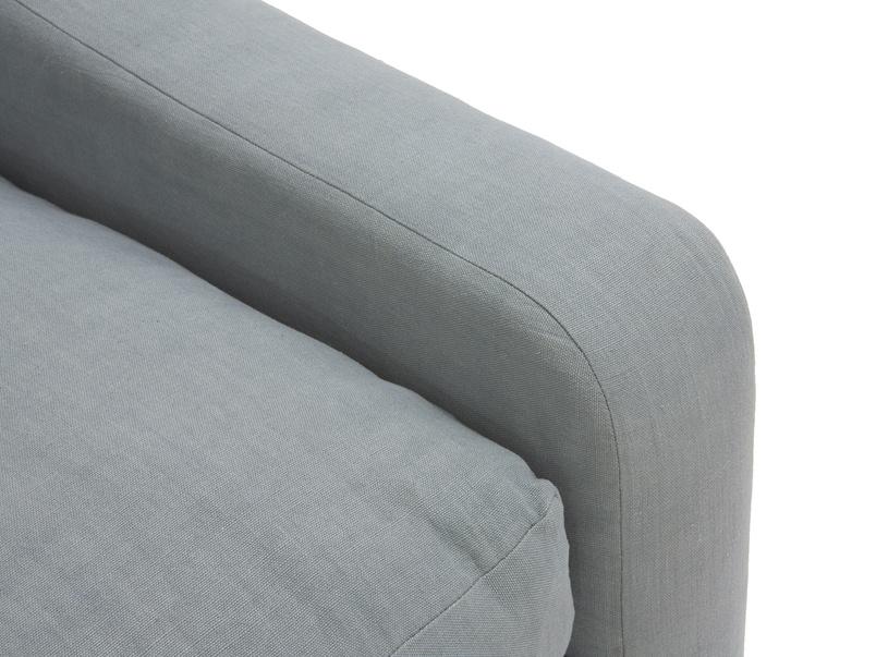 Luxury contemporary deep large Oscar corner modern corner sofa
