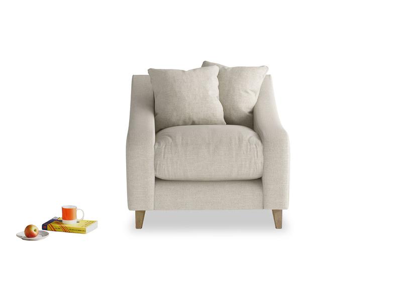 Comfy handmade deep luxury British made Oscar armchair