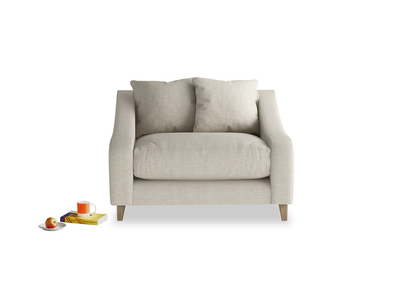Stunning Oscar very comfortable love seat and snuggler