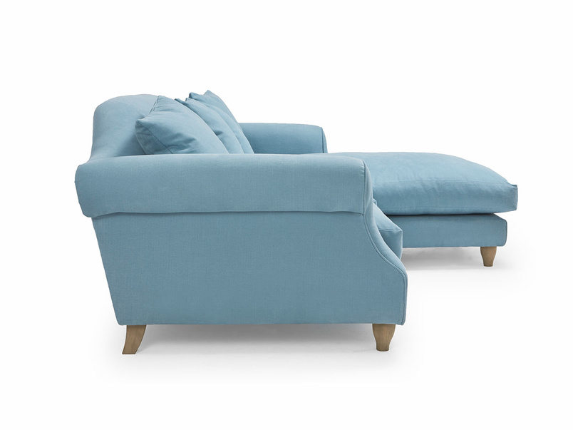 Extra deep Sloucher chaise sofa