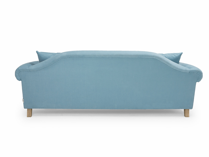 Traditional comfy Sloucher chaise sofa