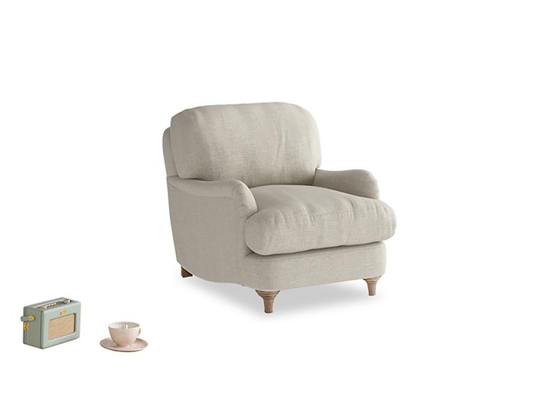 Comfy luxury Jonesy deep British made armchair
