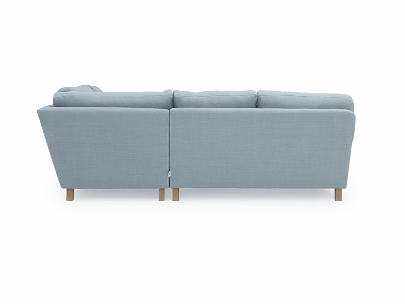 Traditional comfy Jonesy corner sofa