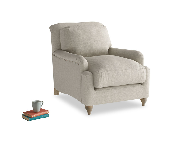 Deep comfy British made Pavlova luxury armchair