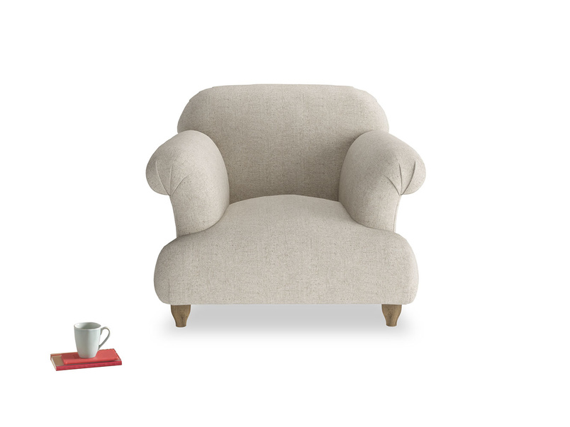 Beautiful extra comfy contemporary luxury British made Soufflè armchair