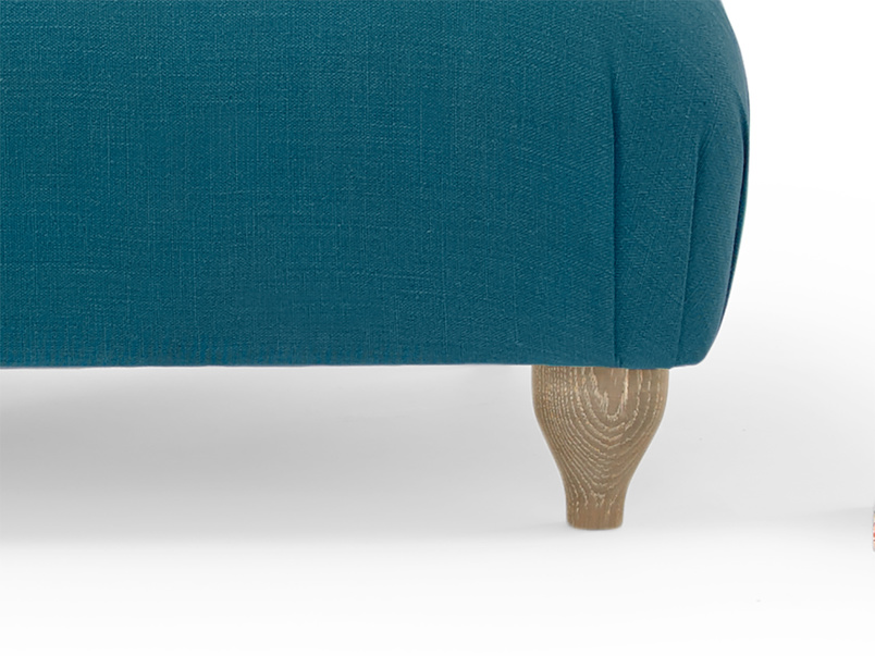 Contemporary beautiful hand made Soufflé love seat and snuggler