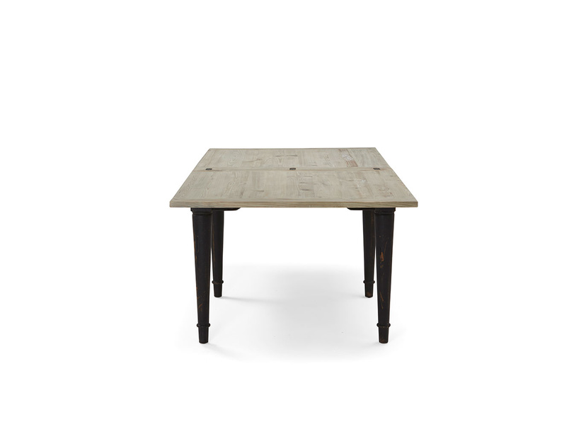Toaster beached timber Flip Top extendable kitchen table