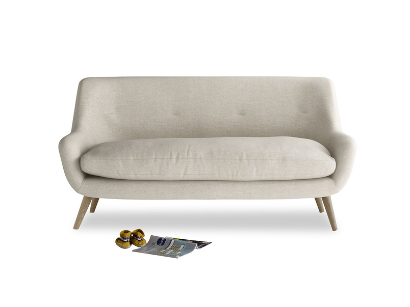 Retro inspired vintage style luxury Berlin sofa handmade in Britain