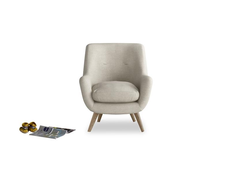 Retro style luxury Berlin British made armchair