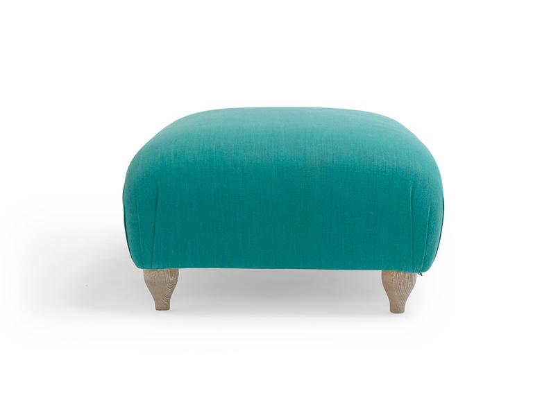 Traditional Homebody upholstered handmade footstool