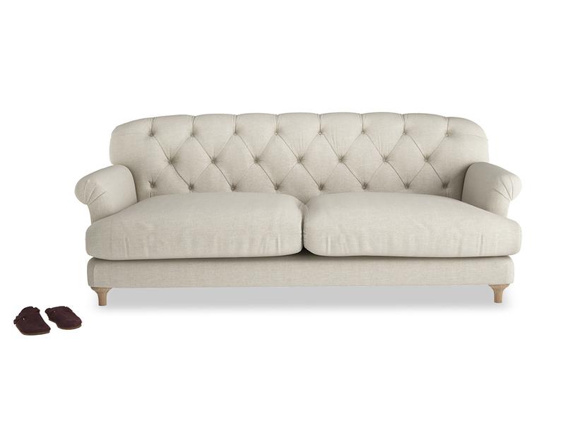 Truffle comfy deep seated sofa