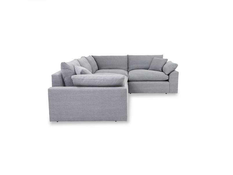 Cuddlemuffin comfy sectional corner sofa