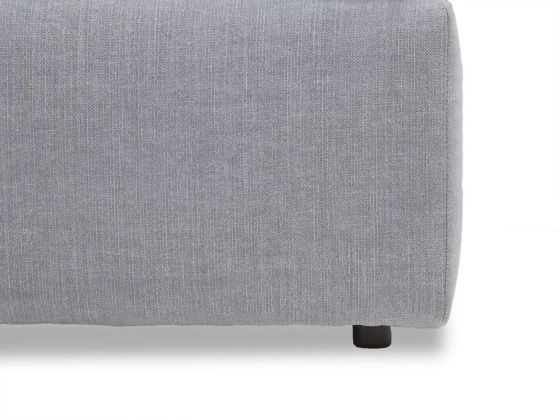 Cuddlemuffin footstool for sectional sofa