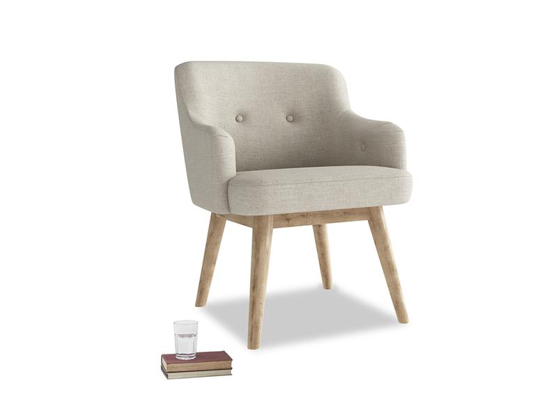 Luxury British made Smudge desk chair