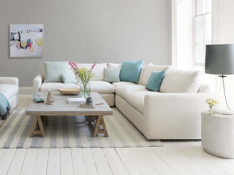Chatnap modular corner storage sofa with arms