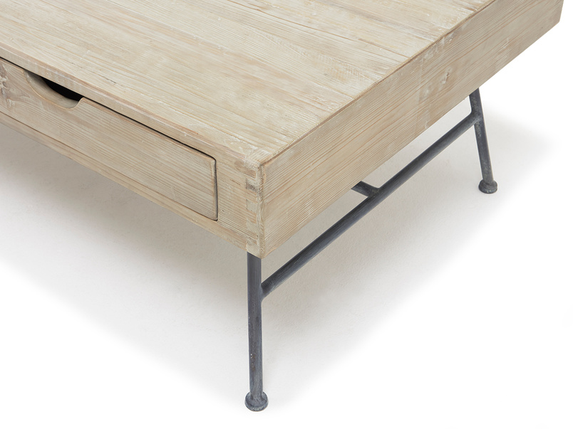 Coffee Cargo industrial coffee table
