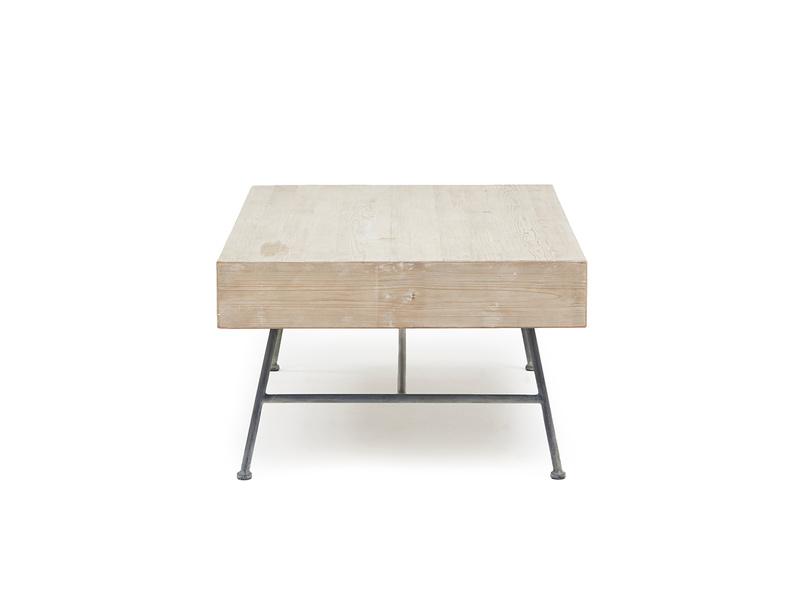Coffee Cargo reclaimed wood coffee table