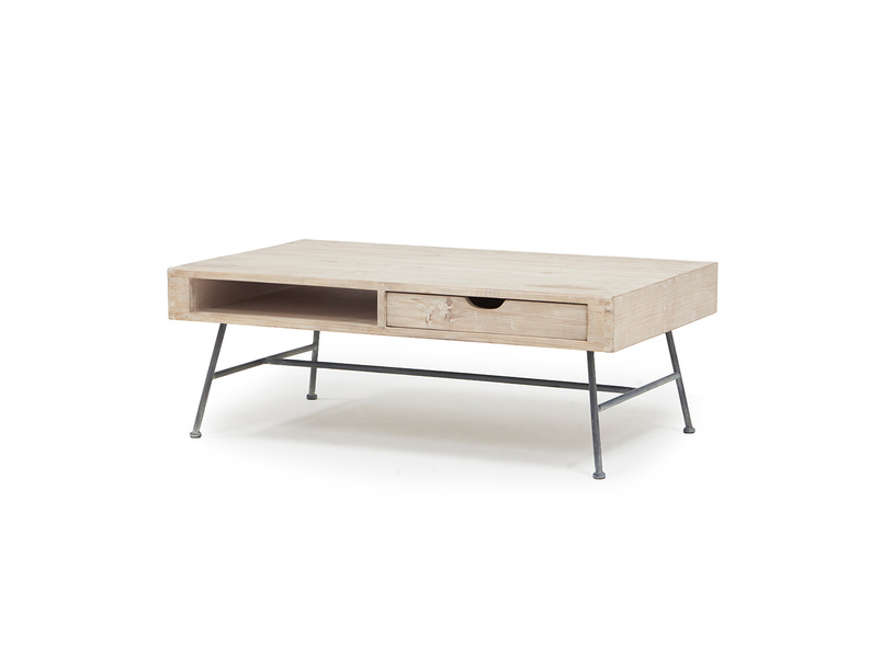 Coffee Cargo wooden coffee table