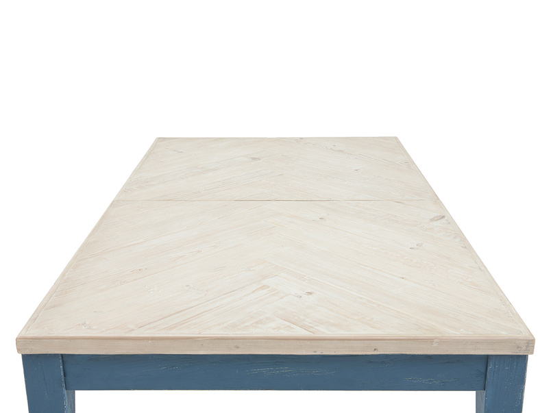 Park Up extendable painted wood kitchen table