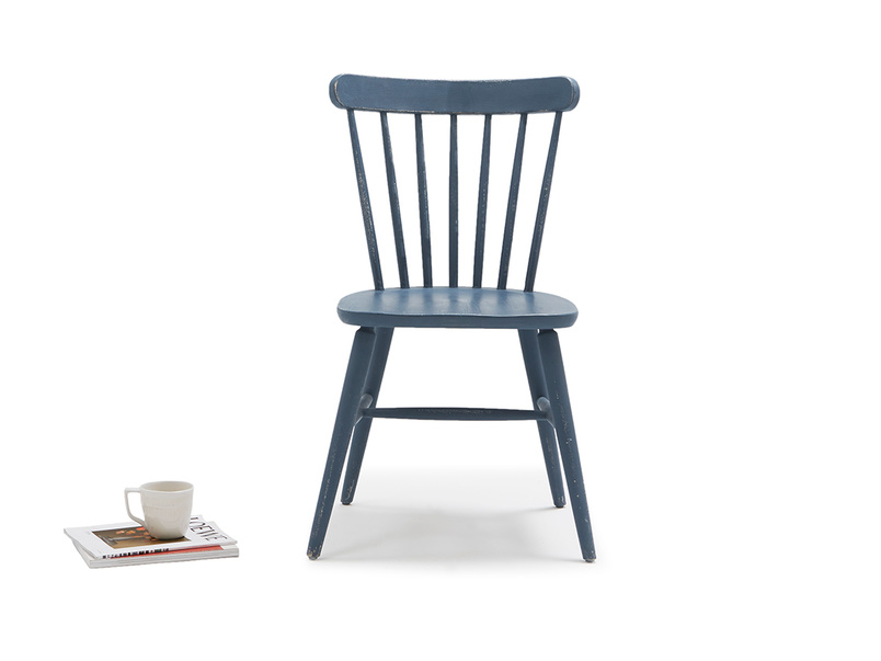 Natterbox dining chair in Inky Blue